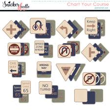 Chart Your Course Signs By Snickerdoodle Designs