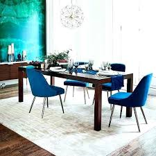 blue dining chairs wonderful upholstered room mid century chair velvet west perth gumtree