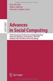<b>Advances in Social Computing</b>