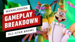 Nickelodeon All-Star Brawl: Gameplay ...