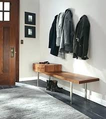 Entryway Bench And Coat Rack Plans Modern Entryway Bench Cool Entryway Benches Bench By Modern Entry 95