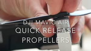 <b>Quick release</b> propellers - <b>DJI Mavic Air</b> - YouTube