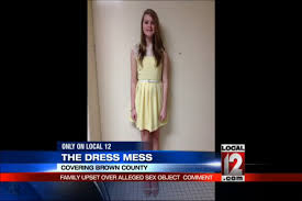 ohio told to cover her bare shoulders at dance middle dress code bans bare arms