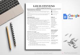 Professional Resume Template Louis Stevens Bestresumes