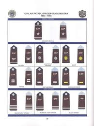 Civil Air Patrol Senior Ranks Chart Civil Air Patrol Uniform Insignia Since 1941 By Preston B Perrenot