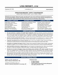 Logistics Manager Resume Sample Cover Letter For Supply Chain Doc