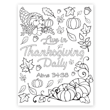 Printable thanksgiving coloring pages free are not the ordinary pages. Live In Thanksgiving Daily Coloring Page Printable In Lds Coloring Pages On Ldsbookstore Com