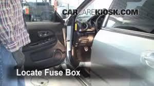 interior fuse box location 2004 2007 subaru impreza 2005 subaru 2004 2007 subaru impreza interior fuse check