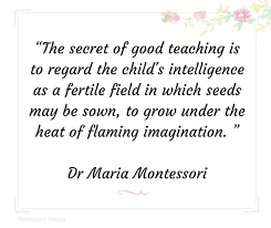 Maria Montessori Quotes 70 Stunning Quotes Of Maria Montessori Inspiration For Teachers And Parents