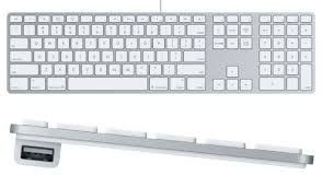apple keyboard with numeric keypad. for anyone who really misses the numeric keypad, there are many third-party keypad options including ones that closely match design of apple\u0027s wireless apple keyboard with