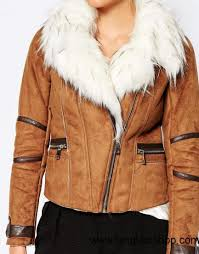 united states women tan women river island suedette biker jacket with faux fur collar us lbpy94002672
