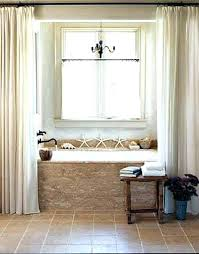 garden tub decorating ideas corner bathtub shower curtain rod unused with how to decorate surround tubs