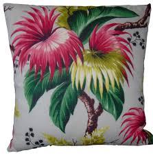 Hawaiian Print Pillow Covers