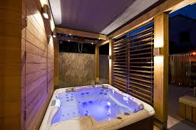 Bathroom With Hot Tub Interior Interesting Inspiration