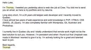 cover letter examples that got the jobweb developer cover letter