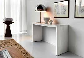 Delighful Modern White Console Table 10 Tables For The Hallways With Beautiful Design