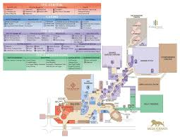 MGM Grand Las Vegas Property Map  Las Vegas Hotel Maps Mgm Grand Las Vegas Floor Plan