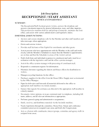 Medical Office Assistant Job Description For Resume Best Ideas Of 100 Office assistant Job Description Resume Awesome 16