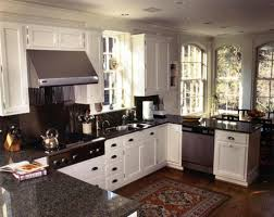 U Shaped Kitchen Cool White Cabinet Paint On Magnificent U Shaped Kitchen Design