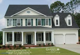 colonial house plans. Colonial House Plans Lovely Plan Kensington A By Garrell 2 Story Home I