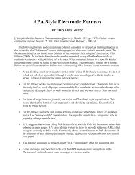 Citation Format Etiwanda E