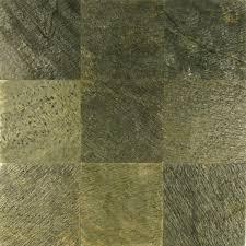 gold green slate tile