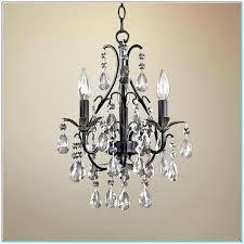 mini bronze crystal chandelier mini crystal chandelier for bathroom pendant light in bronze finish mini crystal