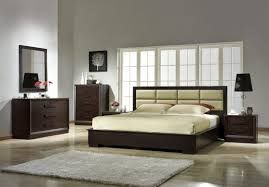 Bedroom:Minimalist Bedroom With Minimalistic Bed Fits With Long White  Tufted Headboard Minimalist Headboard With