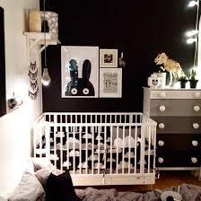 Quarto de bebê luli preto e branco com descontos exclusivos e frete grátis para todo o brasil você só encontra na grão de gente! 21 Quartos Com Decoracao Preto E Branco Construcao E Design
