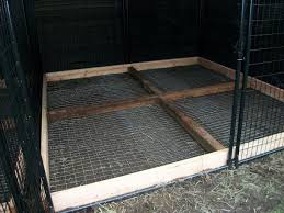 for the bottom of outside dog kennel keep dog from digging out within outdoor dog kennel flooring ideas