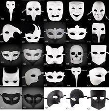 Blank Eye Masks To Decorate White Mask eBay 56