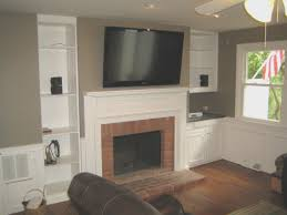 Fireplace : Awesome Tv Above Fireplace Ideas Nice Home Design .
