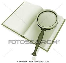 drawing searching in an open book 3d rendered ilration fotosearch search clip