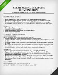 Example Of Combination Resumes Combination Resume Examples 2017