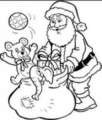 Santa Claus And Reindeer Coloring Pages 24 Best Christmas Coloring