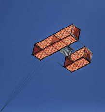 Box Kite Designs Plans A Striking Hargrave Box Kite May They Be Built And Flown