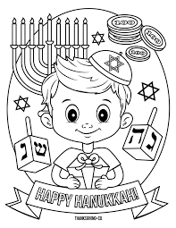 4 Hanukkah Coloring Pages You Can Print And Share With Your Kids