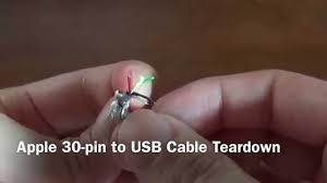 apple 8 pin wiring diagram apple image wiring diagram apple 30 pin to usb cable teardown on apple 8 pin wiring diagram