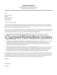 Job Sample Cover Letter For Information Technology Job Investment