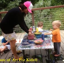 infant and toddler finger paint