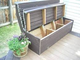 storage benches outdoor deck bench plans intended for miraculous ideas diy your residence decor