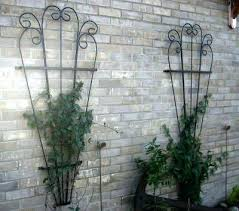 wrought iron wall trellis trellis fan attractive strong solid wrought iron garden scroll wall trellis outdoor wrought iron wall trellis