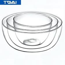 glass salad bowl sets high temperature glass salad bowl cake bread cooking tools in bowls from glass salad bowl