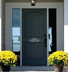 front door monogramFront Doors Front Door Decal Front Door Decal Numbers Front