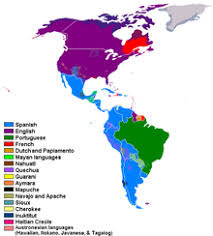 continent of america map. Plain Continent Languages Spoken In The Americas In Continent Of America Map N