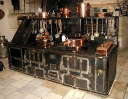 Refurbished antique appliances Refurbished antique appliances fit the Steampunk  Kitchen