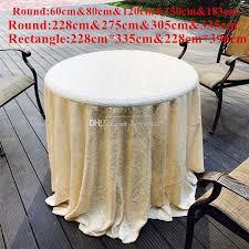various sizes 60cm 300cm round sequins tablecloths wedding rectangle table cloths party arrangement wedding props festival decoration stuff spring