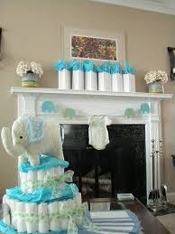 Turquoise Baby Shower Decorations Blue And Green Elephant Baby Shower Decorations Elephant Baby