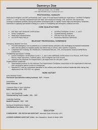 Emt Resume Examples New Emt Resume Examples Hr Resume Sample Awesome