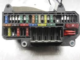 power fuse box right side of trunk bmw li  power fuse box right side of trunk 61136900583 2002 bmw 745li 02 e65 e66 02 4 4